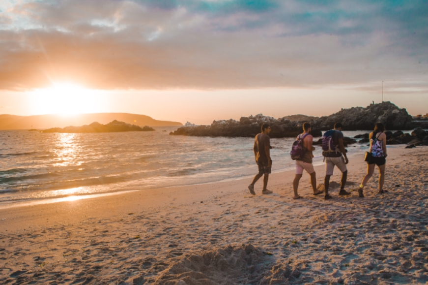 bahia inglesa beach | things to do in Copiapo Chile atacama desert