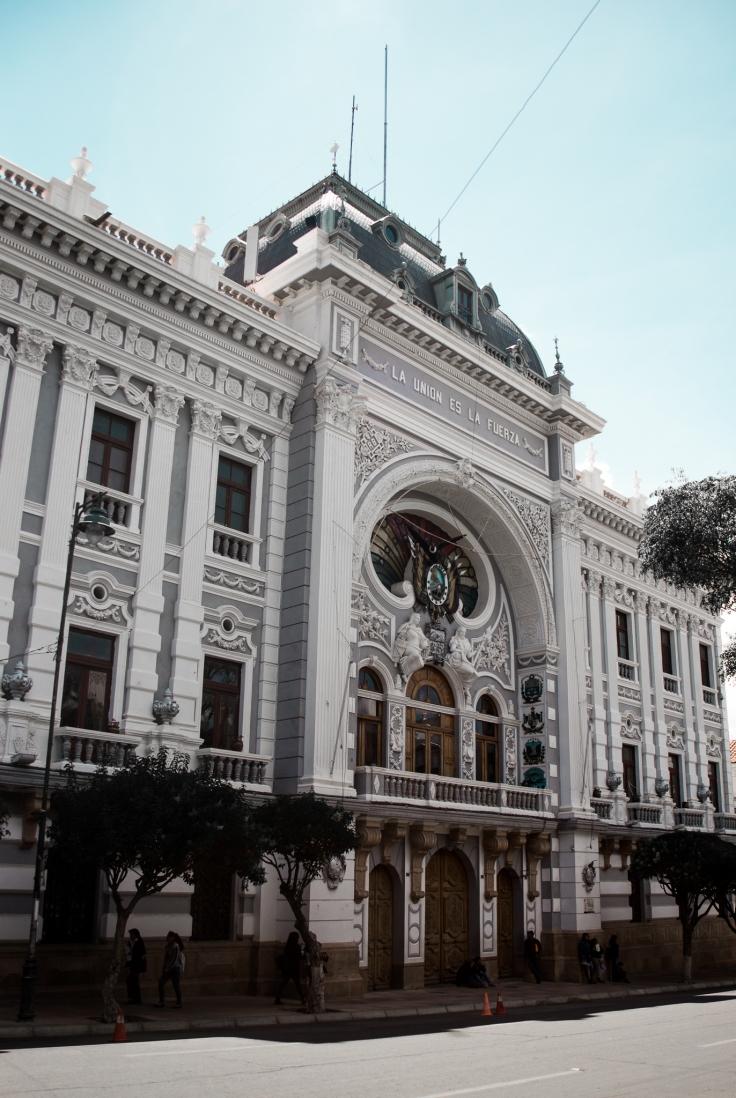 Sucre, Bolivia's beautiful administrative capital