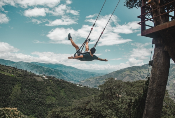 casa de arbol tree house swing banos baños ecuador top sights things to do tourism travel guide tips bus