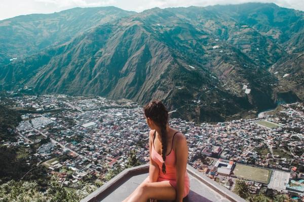 banos baños ecuador top sights things to do tourism travel guide tips bus luna runtun hotel views infinity pool