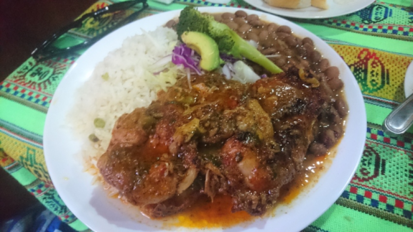 typical menestras ecuadorian food traditional