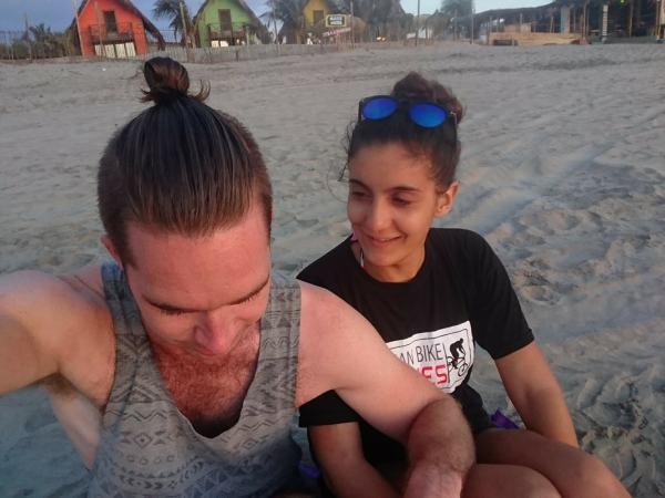 mancora beach peru clean dirty travel peru guide trip planning itinerary sand travel couple
