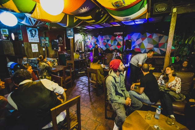 hostel kokopelli lima peru hotel accommodation best review lui samanez backpackers party bar rooftop