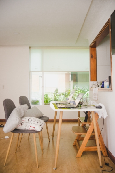 usaquen accommodation bogota airbnb barrio review safety safe secure gated gaurds bnb hotel hostel where to stay bogotá colombia capital city workspace cowork desk office space digital nomad best place to stay