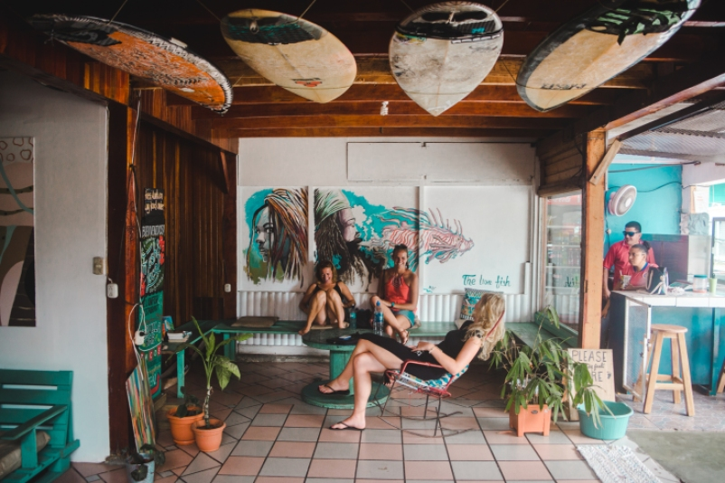 workaway volunteering placement how to choose what to look for caution registration fee volunteering abroad costa rica south america latin america travel couple lionfish hostel puerto viejo